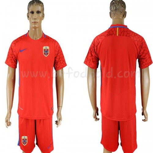 Norway 2018 Short Sleeve Home Soccer Jersey